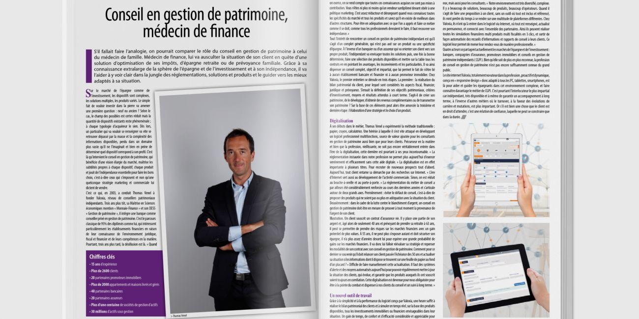 Valoxia a l'honneur dans le dernier numero du magazine I ... - Image 2