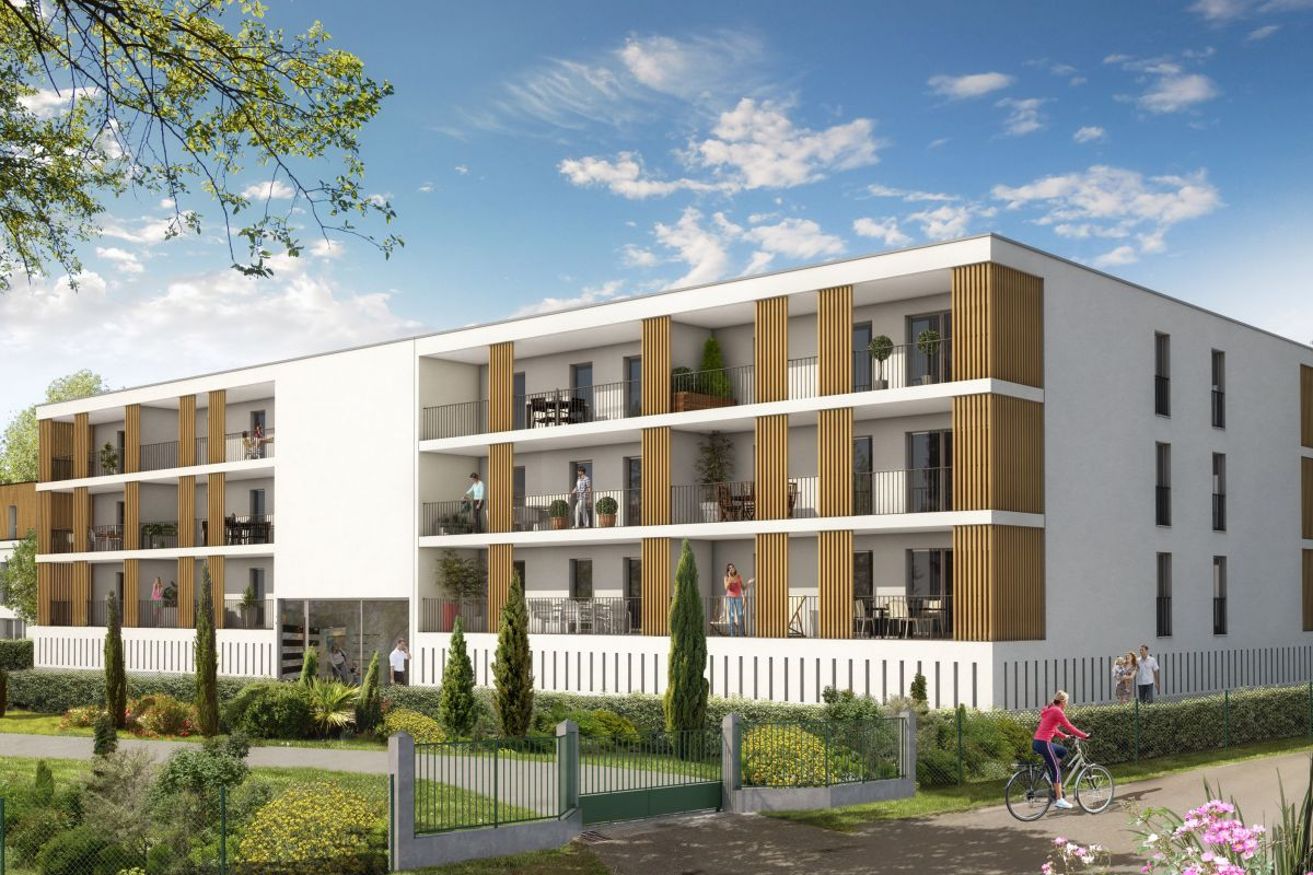 Programme immobilier cugnaux 31270 le domaine tolosan for Programme immobilier