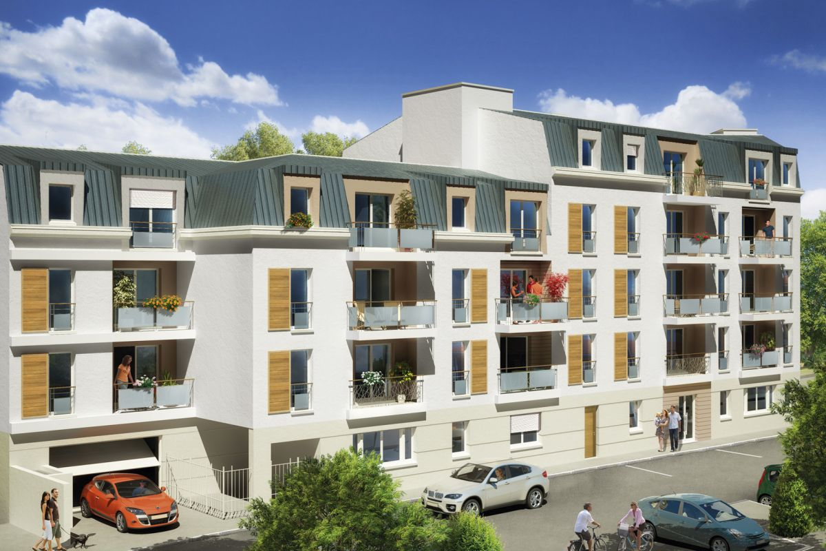 Programme immobilier résidence l'adagio - Image 1