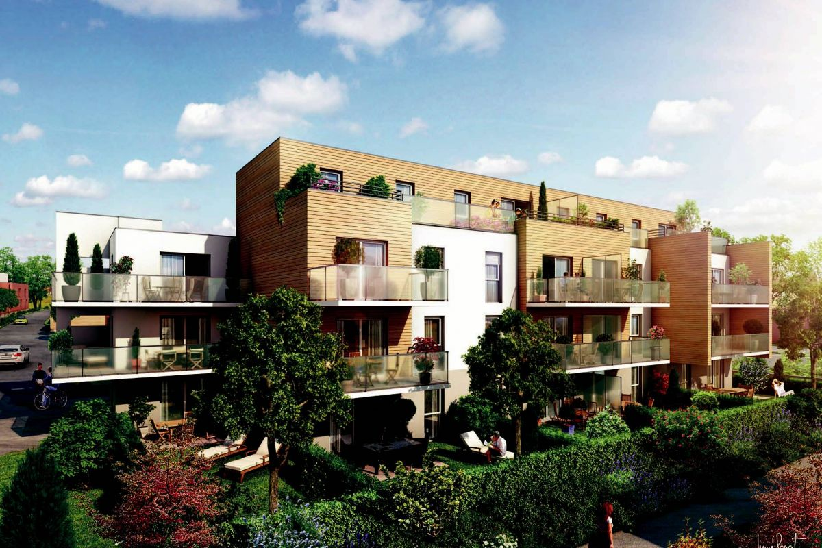 Programme immobilier esprit nature haubourdin/appartements - Image 2