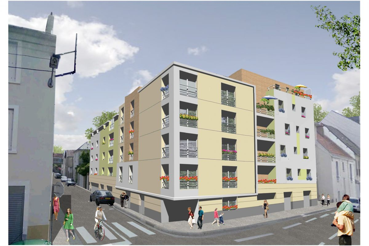 Programme immobilier résidence haxo - Image 1