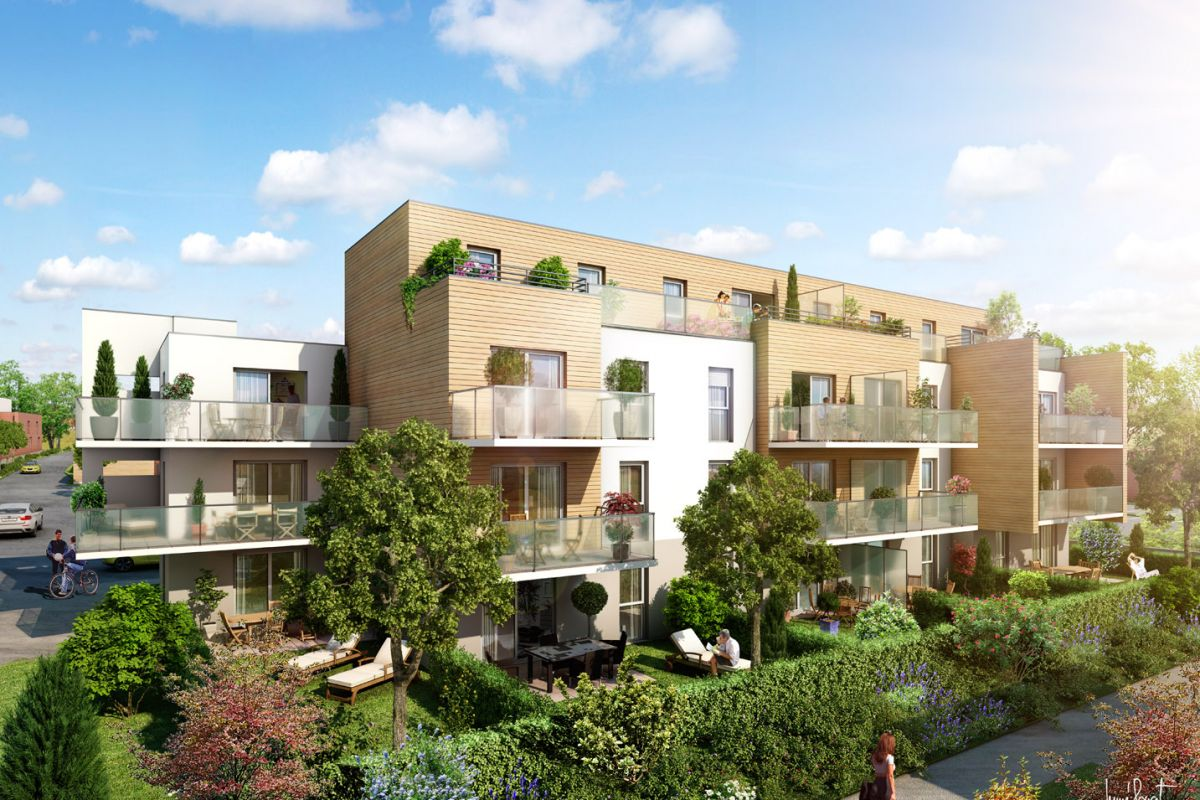 Programme immobilier résidence esprit nature / les platanes - Image 1