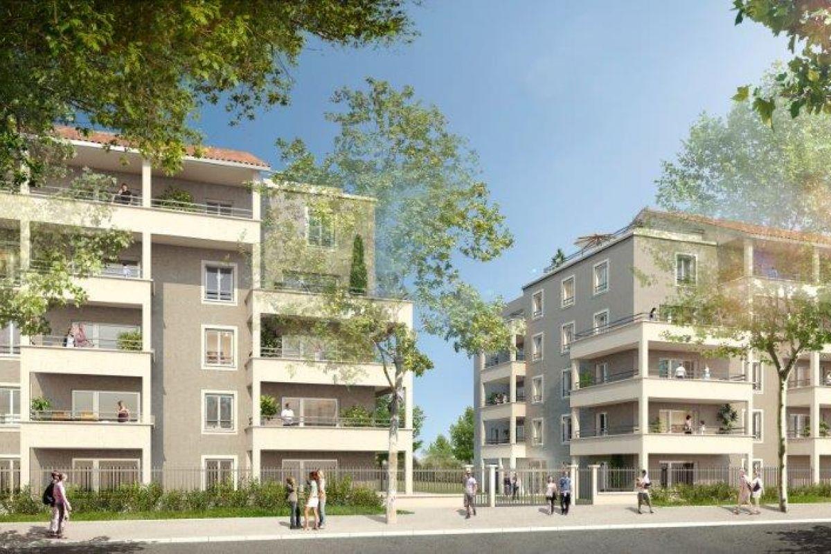 Programme immobilier les jardins d'inès - Image 1