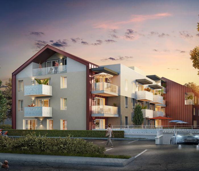 Programme immobilier le leman - Image 1