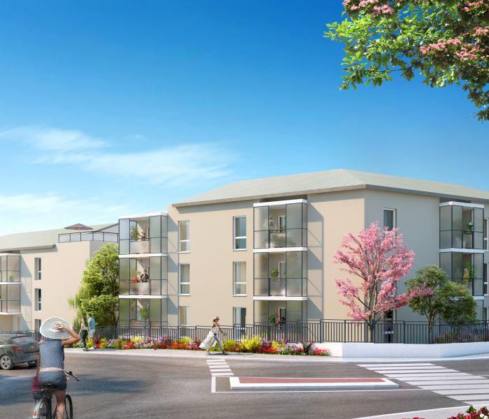 Programme immobilier les terrasses de julie - Image 1