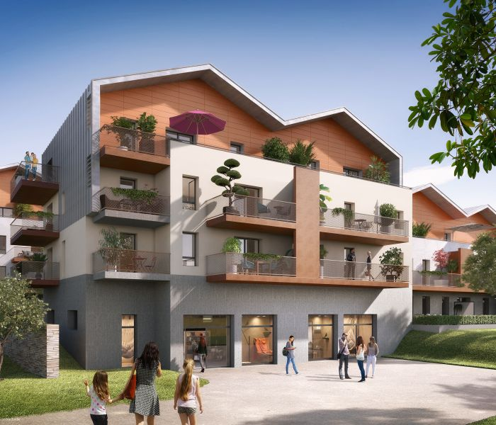 Programme immobilier parc andine - Image 1