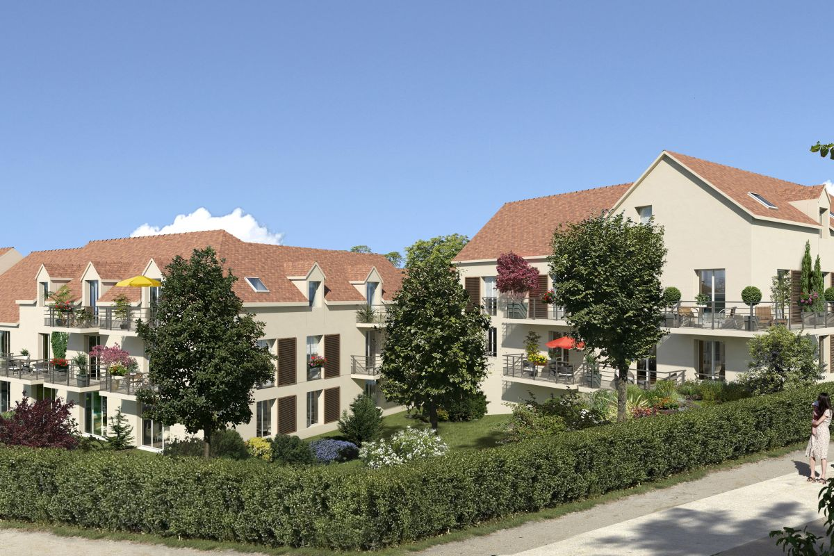 Programme immobilier résidence le prieuré - Image 1