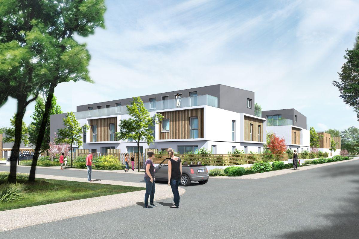 Programme immobilier le hameau des coqs rouges - Image 1