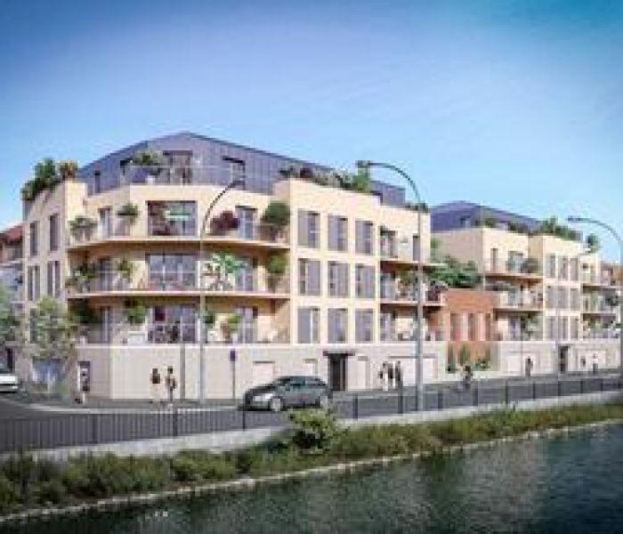 Programme immobilier les terrasses de l'oise - Image 1