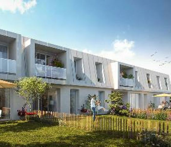 Programme immobilier blanc pavois - Image 1