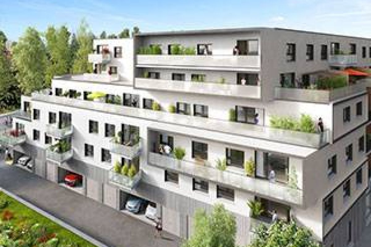 Programme immobilier lille o'vert - Image 1