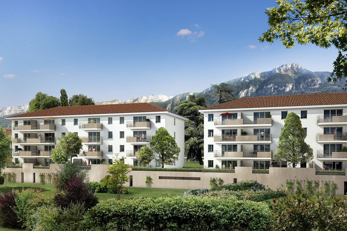Programme immobilier grand angle - Image 1