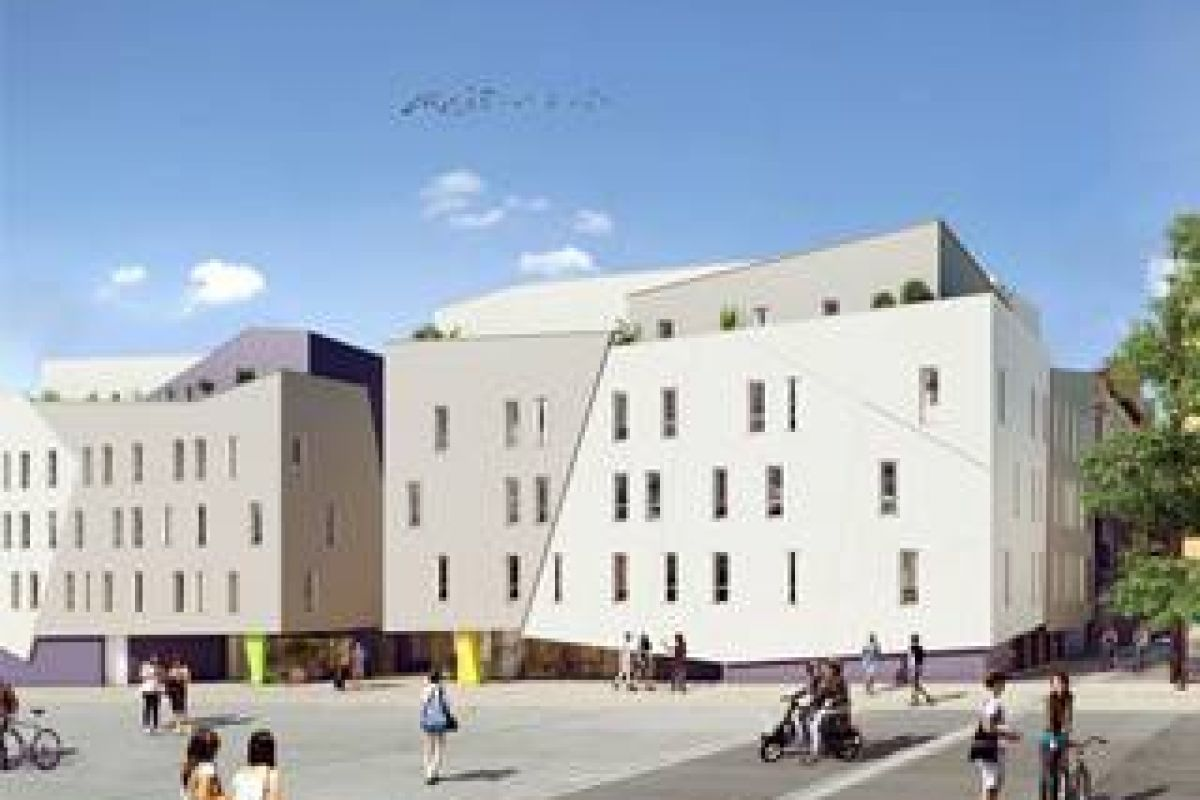 Programme immobilier residence le conservatoire - Image 1