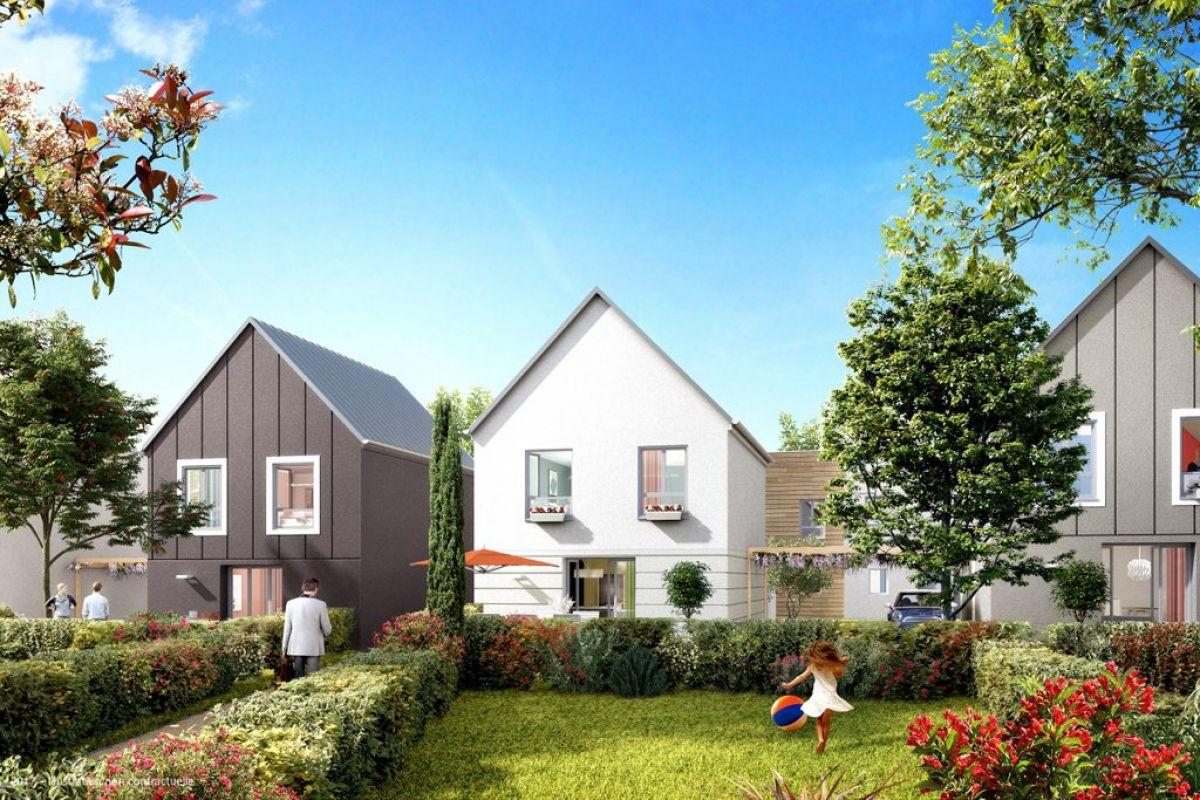 Programme immobilier le clos chatel à bruyeres le c. - Image 2