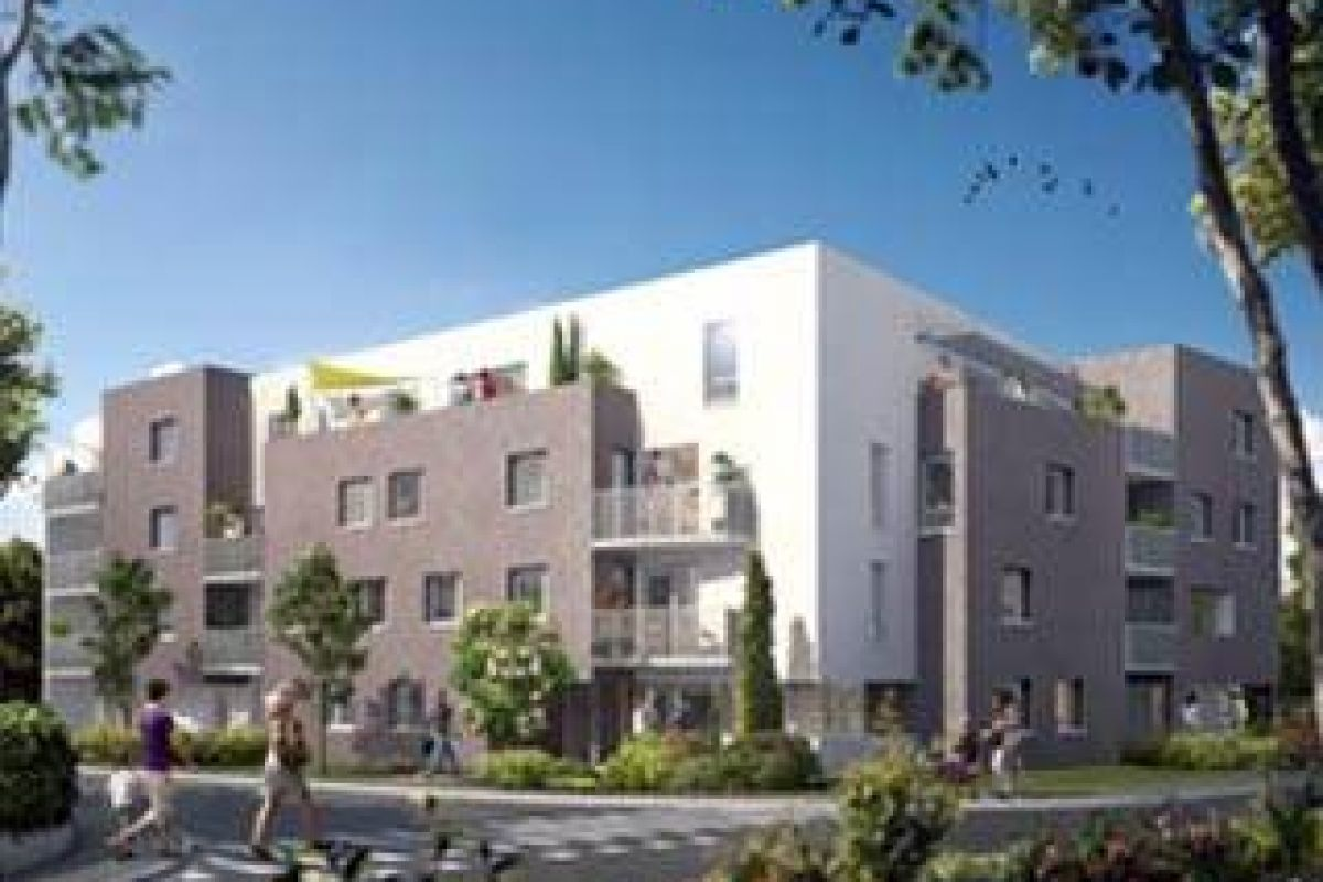 Programme immobilier carre saint martin - Image 1