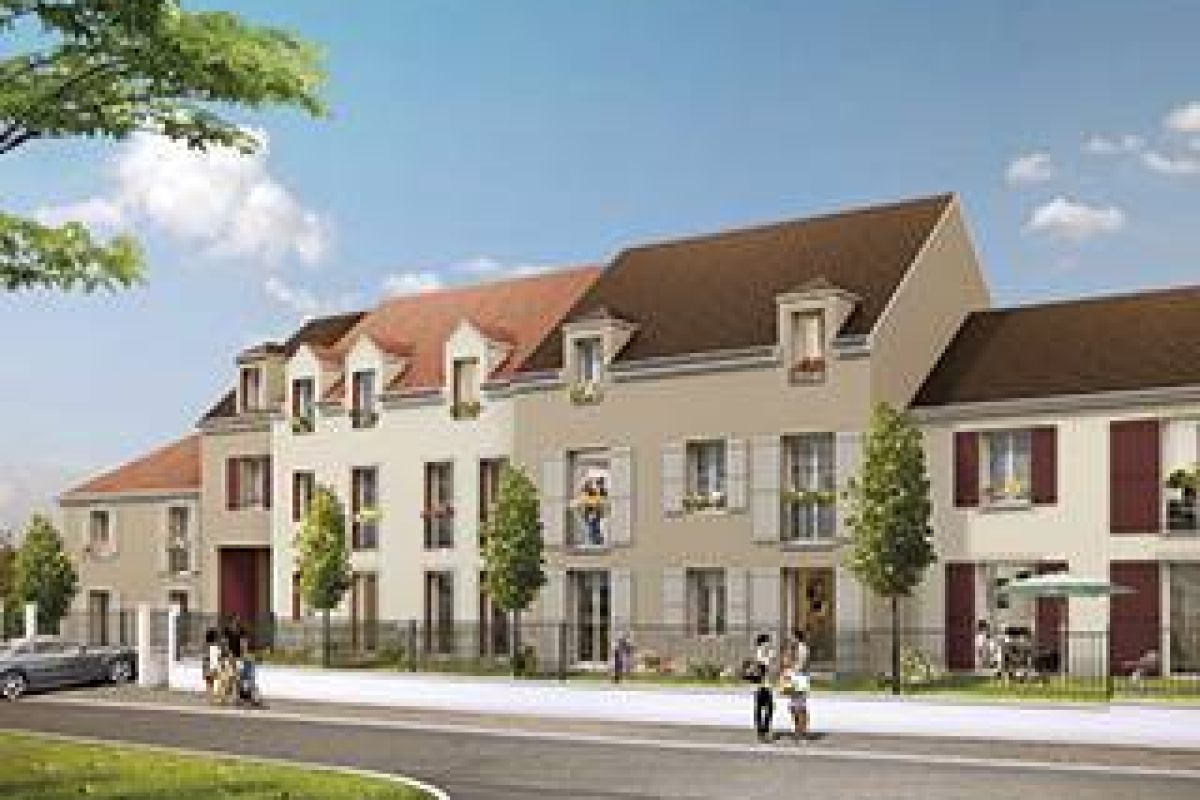 Programme immobilier le clos nicolas a baillet-en-fce - Image 1