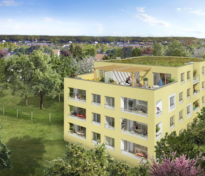 Programme immobilier aquarelle - Image 1