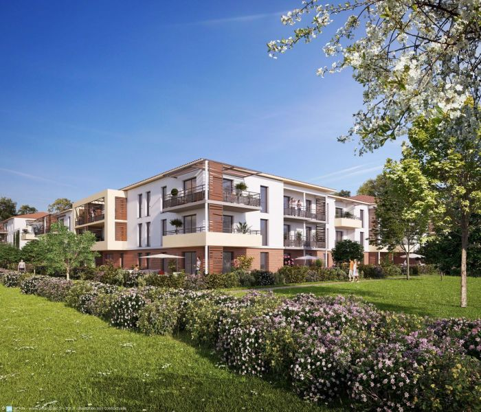 Programme immobilier coeur jardin - Image 1
