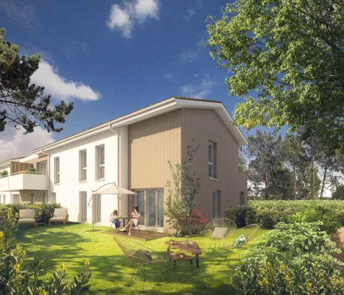 Programme immobilier les terrasses du medoc - Image 1