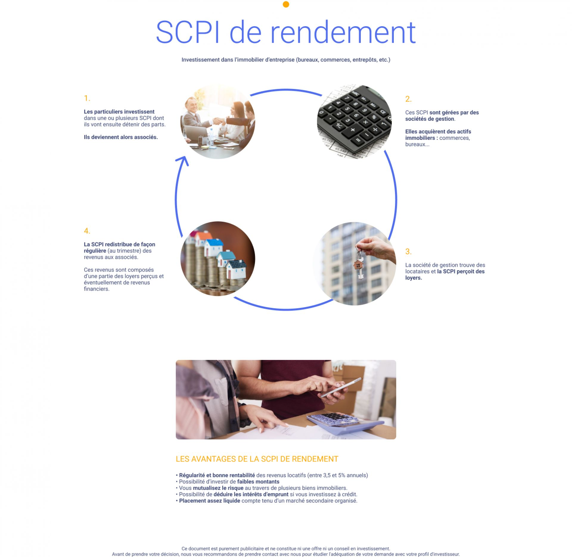 SCPI de Rendement - Image 2
